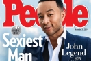 John Legend na obálce časopisu People.