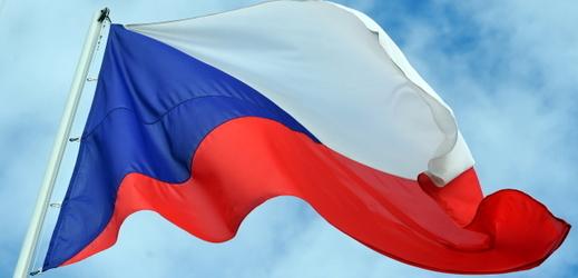 Vlajka Česka.