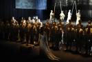Imigranti hrají v Mozartově opeře v Římě.