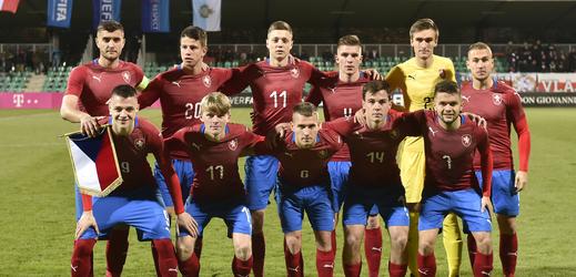 České fotbalová reprezentace do 21 let.