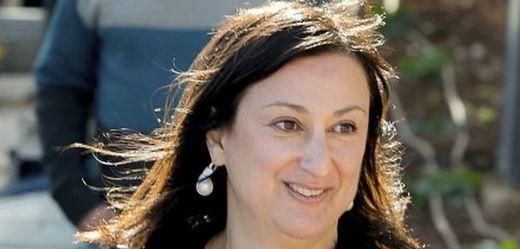 Novinářka Daphne Caruanaová Galiziová.