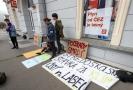 Studentská stávka za klima.