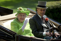 Královna Alžběta II. a princ Philip.