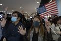Aktivisté v Hongkongu (ilustrační foto).