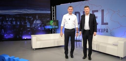 Duel Jaromíra Soukupa s lídrem hnutí SPD.