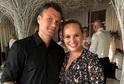 Monika Absolonová s partnerem Tomášem Hornou.