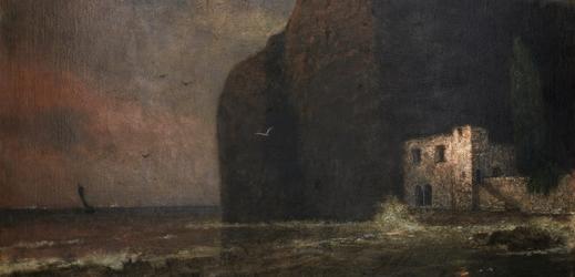 Schikanederův obraz Podvečer v zálivu.