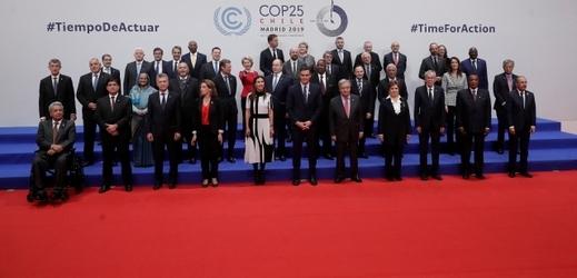 Konference OSN o změnách klimatu (COP25) v Madridu.