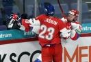 Hokejový útočník Dmitrij Jaškin.