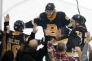 Radost Bostonu Bruins.
