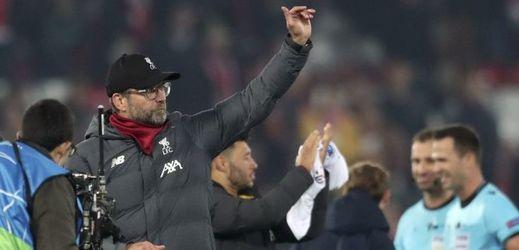 Trenér Liverpoolu Jürgen Klopp po utkání s Evertonem.