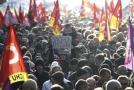Protesty v Rennes.