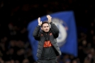 Kouč fotbalistů Chelsea Frank Lampard.