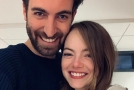 Emma Stone s budoucím manželem.