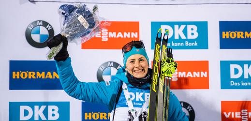 Vítězka závodu Justine Braisazová.