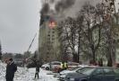 Budova v Prešově, kde explodoval plyn.