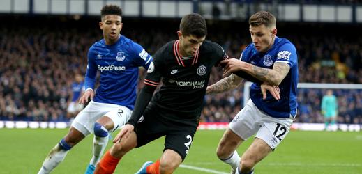 Everton s novým koučem zabral, doma přehrál Chelsea