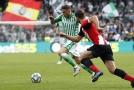 Nejstarší střelec hattricku ve španělské lize zařídil výhru Betisu.