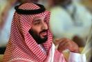 Korunní princ Muhammad bin Salmán.