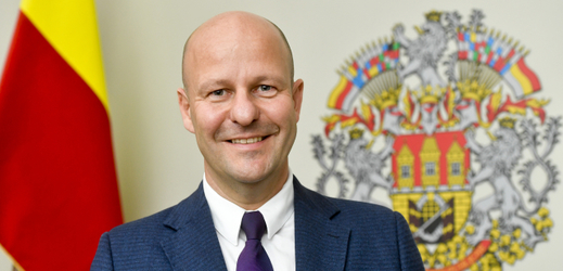 Předseda pražského STAN a náměstek primátora Petr Hlubuček.