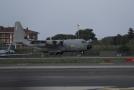Armádní letoun Lockheed C-130 Hercules.