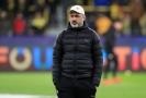 Trenér Slavie Praha Jindřich Trpišovský na zápase Ligy mistrů.