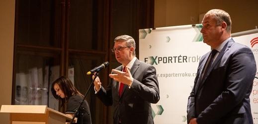 Předání cen proběhlo za účasti ministra Karla Havlíčka.