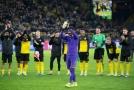 Překvapivou hvězdou zápasu v Německu se stal domácí Bürki.