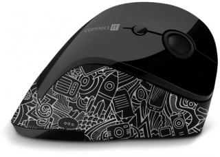 Ergonomická bezdrátová myš CONNECT IT.