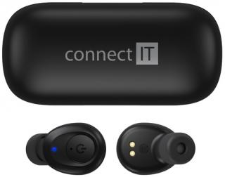 Moderní sluchátka CONNECT IT True Wireless HYPER-BASS.