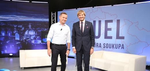 Duel Jaromíra Soukupa s ministrem Adamem Vojtěchem