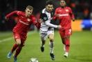 Hvězdný Cristiano Ronaldo v utkání s Leverkusenem.