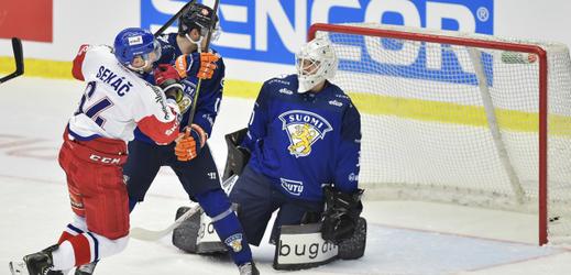 Češi proti Finsku vedení neudrželi, výhru urvali v prodloužení