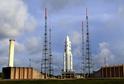 Raketa Ariane 5 ve Francouzské Guyaně.