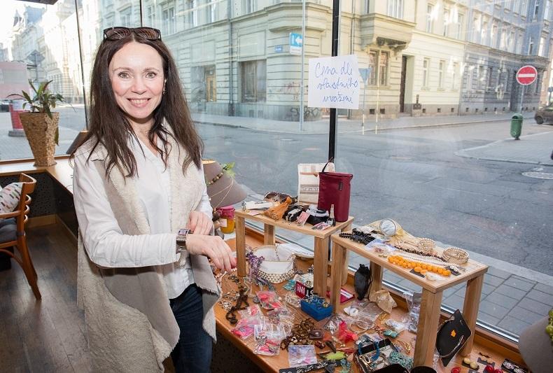 Pavlína Kafková alias soudkyně Barbara je velmi podnikavá