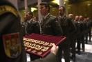 Slavnostní nástup vojáků.