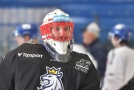 Čeští hokejisté nastoupí do dnešního utkání Channel One Cupu v Moskvě proti domácí sborné se Šimonem Hrubcem v brance.