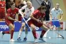 Fotografie z utkání Česko vs Švýcarsko.