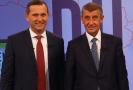 Jaromír Soukup a Andrej Babiš.