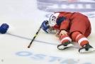 Hokejista Jakub Lauko zraněný v úvodním utkání s Ruskem už do juniorského mistrovství světa v Ostravě nezasáhne.