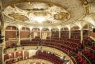 Historická budova libereckého divadla F. X. Šaldy.