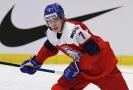Hokejový obránce Martin Haš se podílel na všech třech gólech českého týmu v druhém zápase mistrovství světa hráčů do 20 let proti Německu.