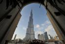 Nejvyšší budova světa Burdž Chalífa.