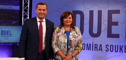 Duel Jaromíra Soukupa s ministryní financí.