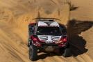 Mathieu Serradori při závodě Rallye Dakar.