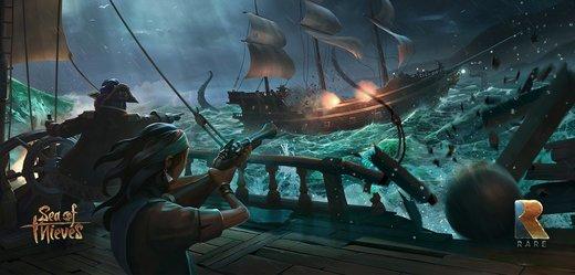 Pirátské Sea of Thieves je nejúspěšnější novou značkou Microsoftu této generace