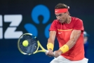 Světová tenisová jednička Rafael Nadal.