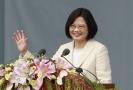 Prezidentka Cchaj Jing-wen.