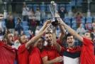 Skvělý Djokovič zařídil Srbům výhru v ATP Cupu