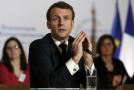 Francouzský prezident Emmanuel Macron.